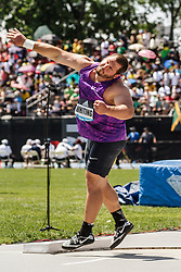 adidas Grand Prix Diamond League Track & Field: Mens' Shot Put, Ryan Whiting, USA