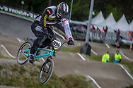 #996 (KRIGERS Kristens) LAT during round 3 of the 2017 UCI BMX  Supercross World Cup in Zolder, Belgium,