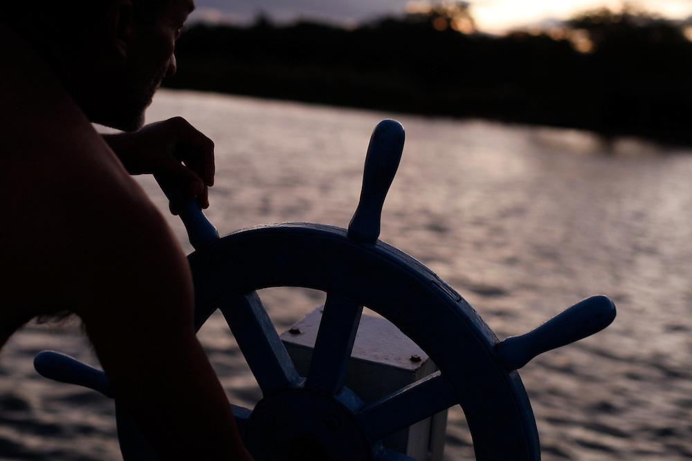 Petrolina_PE, Brasil.<br /> <br /> Rio Sao Francisco em Petrolina, Pernambuco.<br /> <br /> Sao Francisco river in Petrolina, Pernambuco.<br /> <br /> Foto: LEO DRUMOND / NITRO