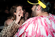 CHARLOTTE DELLAL; KABIR, Downstairs at Momos. Momo Restaurant. Heddon st. London. 22 February 2010.