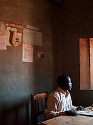 Headmaster of Iloileri School near Amboseli National Park, Rift Valley Province, Kenya