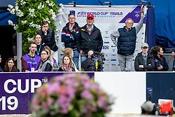 Bruynseels Niels, BEL, Delux van T&L<br /> LONGINES FEI World Cup™ Finals Gothenburg 2019<br /> © Hippo Foto - Stefan Lafrentz<br /> 04/04/2019