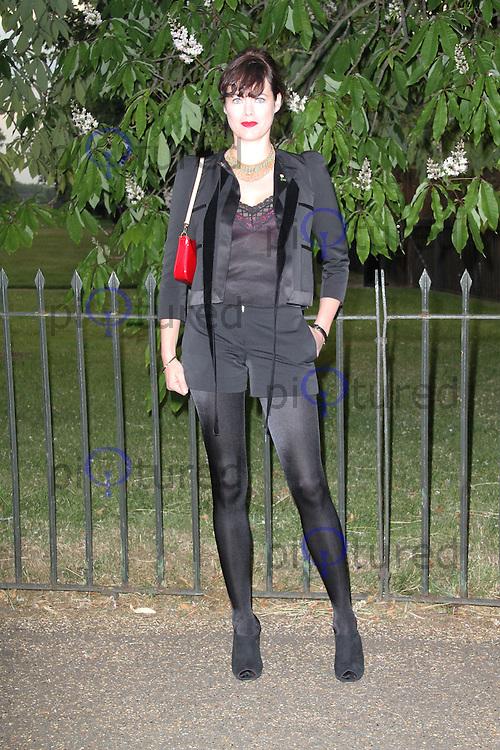 Jasmine Guinness, The Serpentine Gallery summer party, Kensington Gardens London UK, 26 June 2013, (Photo by Richard Goldschmidt)