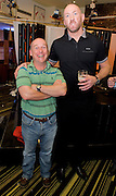 PJ Mealy, Moycullen Galway with Rugby legend Trevor Brennan  at the Guinness Area22 event in the Carlton Hotel Galway.