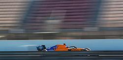 McLaren's Carlos Sainz during day one of pre-season testing at the Circuit de Barcelona-Catalunya.
