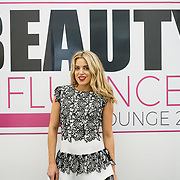 Olympia London, London, England, UK. Olivia Cox | TV Presenter & Blogger Olivia Cox's attend The Olympia Beauty show at Kensington Olympia in London on 1st October 2017.