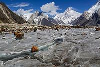 K2 and Marble Peak, Pakistan