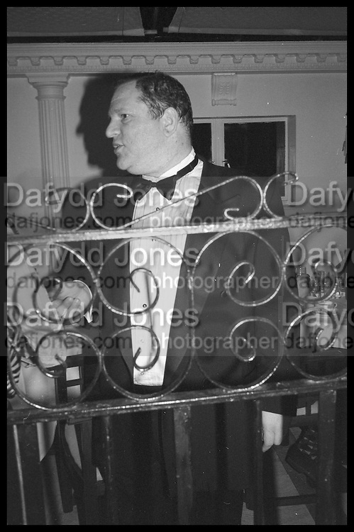 HARVEY WEINSTEIN, Tatler Bafta party hosted by Jane Procter and Charles Finch. Lola's. Upper St. London. April 1999.