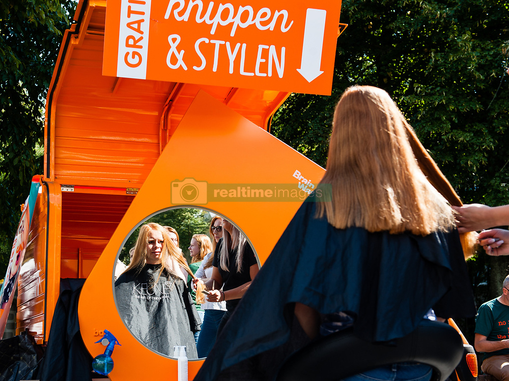 """September 2, 2017 - Breda, Netherlands - September 2nd, Breda. Every year thousands of natural redheads gather in the small Dutch town of Breda to celebrate International Redhead Day. The event, known as """"Roodharigendag"""" in Dutch, occurs every September. It currently holds the world record for the largest number of natural redheads in one place. Nearly 2,000. And it attracts redheads from over eighty countries, with representatives spanning from the US and Canada throughout Europe and as far reaching as Syria and South Africa. (Credit Image: © Romy Arroyo Fernandez/NurPhoto via ZUMA Press)"""