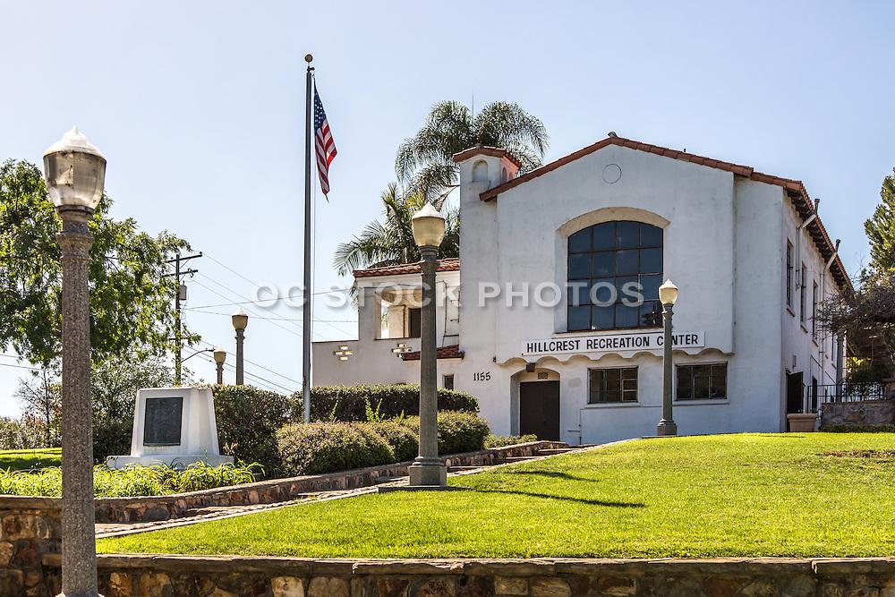 Hillcrest Park and Recreation Center in Fullerton California