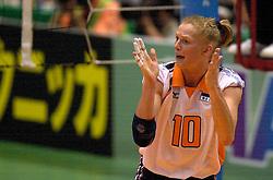19-06-2000 JAP: OKT Volleybal 2000, Tokyo<br /> Nederland - Japan 1-3 / Henriette Weersing