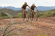 during stage 2 of the 2014 Absa Cape Epic Mountain Bike stage race from Arabella Wines in Robertson, South Africa on the 25 March 2014<br /> <br /> Photo by Greg Beadle/Cape Epic/SPORTZPICS