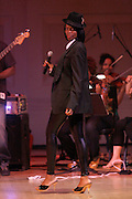 Renee Neuville at Mos Def Presents: Amino Alkaline - The Watermelon Syndicate with special guest Gil Scott Heron, Produced by Jill Newman Productions held at The JVC JAZZ FESTIVAL/CARNEGIE HALL on JUNE 28. . A consummate emcee, vocalist, musician and actor, it was no surprise when Mos Def premiered the Mos Def Big Band in January 2007, drawing from original compositions plus material by Miles Davis, Beyoncé, James Brown and Gil-Scott Heron. Always willing to bend genres to create his own sound, Mos lithely dances among hip hop, jazz and soul while fronting his orchestra of savvy musicians. His face is as familiar as his sound; his acting credits include Be Kind Rewind, 16 Blocks, Something the Lord Made, Lackawanna Blues and Top Dog/Underdog.  America started hearing Gil Scott-Heron?s messages in 1970, but we heard him loudly and clearly when he declared ?The Revolution Will Not Be Televised? in 1974. A no-nonsense performer and lyricist, he wasn?t called a rapper then, but that?s what he was. Today, his younger counterparts and fans call him the king of spoken word.