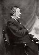 William GGV Vernon Harcourt  (1827-1904) English lawyer and Liberal statesman, one of the great Parliamentarians of the late 19th century.  Home Secretary (1880-1885), Chancellor of the Exchequer (1886 and 1892-1895) who introduced death duties. Leader of the Liberal Party and of the Opposition (1896-1898). From a photograph of Harcourt in later life.