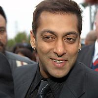 Cineworld Castleford  7 June 2007  IIFA  (International Indian Film Academy)  Bollywood actor Salman Khan at Red Carpet  world premiere of the movie The Train