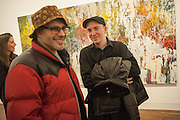 KISH KASH AND KAWS; ( BRIAN DONNELLY )   José Parlá: Broken Languages - private view, Haunch of Venison, 6 Haunch of Venison Yard. 7 February 2013