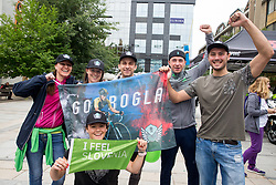 Fans of Primoz Roglic during 2nd Stage of 25th Tour de Slovenie 2018 cycling race between Maribor and Rogaska Slatina (152,7 km), on June 14, 2018 in  Slovenia. Photo by Vid Ponikvar / Sportida