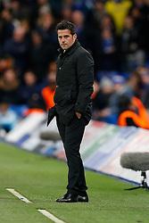 Sporting Manager Marco Silva looks on - Photo mandatory by-line: Rogan Thomson/JMP - 07966 386802 - 10/12/2014 - SPORT - FOOTBALL - London, England - Stamford Bridge - Sporting Clube de Portugal - UEFA Champions League Group G.
