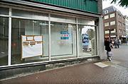 Nederland, Nijmegen, 17-7-2020 Winkelruimte te huur in een winkelstraat in de binnenstad van deze stad in Gelderland . Foto: ANP/ Hollandse Hoogte/ Flip Franssen