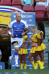 Nathan Sharpe runms on for his 137th appearance as the most capped Super Rugby player during the Super 15 match between the DHL Stormers and The Western Force held at DHL Newlands Stadium in Cape Town, South Africa on the 26 March 2011..Photo by Ron Gaunt/SPORTZPICS