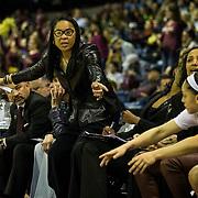 Mar 27,  2017  Stockton, CA, U.S.A. South Carolina head coach Dawn Staley during the NCAA Women's Basketball Stockton Regional Championship between Florida State Seminoles and South Carolina Gamecocks 71-64 win at Stockton Arena Stockton, CA.  Thurman James / CSM