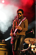 August 23, 2015- Brooklyn, NY-United States: Recording Artist Lenny Ktavitz performs at the 2015 AFROPUNK Festival on August 23, 2015 held at Commodore Barry Park in Brooklyn, New York City.  AFROPUNK is an influential community of young, gifted people of all backgrounds who speak through music, art, film, comedy, fashion and more. Originating with the 2003 documentary that highlighted a Black presence in the American punk scene, it is a platform for the alternative and experimental.  (Terrence Jennings/terrencejennigs.com)