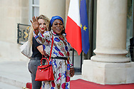 Yeo Pogba (mother of Paul Pogba) and girlfriend of brother Pogba during the reception of the French team at Elysée after winning the 2018 FIFA World Cup Russia on July 16, 2018 in Paris, France - Photo Stephane Allaman / ProSportsImages / DPPI