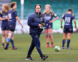 Worcester Warriors Women Director of Rugby Jo Yapp after the final whistle - Mandatory by-line: Nick Browning/JMP - 09/01/2021 - RUGBY - Sixways Stadium - Worcester, England - Worcester Warriors Women v DMP Durham Sharks - Allianz Premier 15s