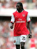 Photo: Tom Dulat.<br /> Arsenal v Bolton Wanderers. The FA Barclays Premiership. 20/10/2007.<br /> Emmanuel Adebayor of Arsenal .
