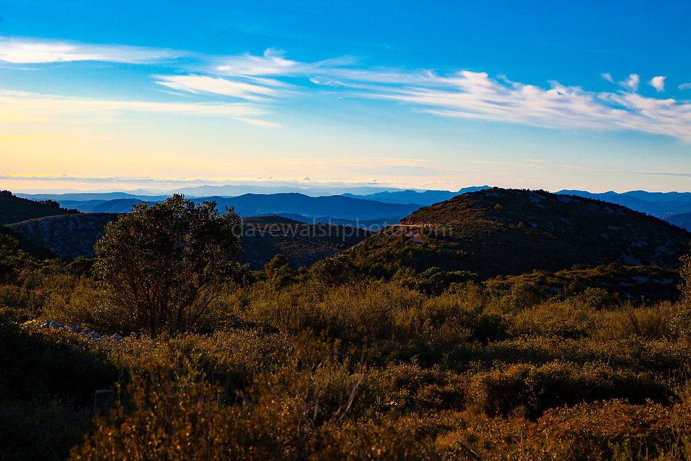 Protected landscape in the Parc Natural del Garraf, Catalonia