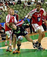 Håndball<br /> 27.10.2005<br /> Norge v Danmark<br /> Poznan, Polen<br /> Foto: Wrofoto/Digitalsport<br /> NORWAY ONLY<br /> <br /> FRANK LØKE