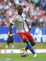 Fotball<br /> Tyskland<br /> 30.08.2014<br /> Foto: Witters/Digitalsport<br /> NORWAY ONLY<br /> <br /> Johan Djourou (HSV)<br /> Fussball Bundesliga, Hamburger SV - SC Paderborn 07