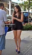 Sept. 4, 2014 - New York City, NY, United States - <br /> <br /> Bethany Mota from Season 19 of 'Dancing with the Stars' arriving at a downtown hotel on September 4 2014 in New York City<br /> ©Exclusivepix