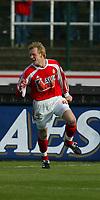 Fotball - Belgia - 05.04.2003<br /> La Louviere v Standard Liege<br /> Ole Martin Aarst - scoret to mål for Standard <br /> Foto: Philippe Crochet, Digitalsport
