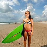 Kayleigh Winslow, 1st Girl's shortboard East Coast Wahine 2006