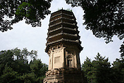 A pagoda park in front of Tanzhesi. Situated in the Western Hills, this Buddhist temple lies 45km west of Beijing. The temple name means 'Dragon Pool and Mulberry Tree Temple', due to its proximity to the Dragon Pool and the trees growing in the surrounding hills.....
