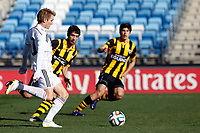 Real Madrid Castilla´s Martin Odegaard during 2014-15 Spanish Second Division match between Real Madrid Castilla and Barakaldo at Alfredo Di Stefano stadium in Madrid, Spain. February 21, 2015. (ALTERPHOTOS/Caro Marin)