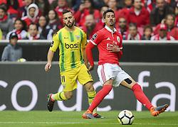 April 30, 2018 - Na - Lisboa, 04/28/2018 - Sport Lisboa Benfica received this afternoon at Estádio da Luz Tondela in the 32nd Match of the first Liga NOS. Epoca 2017 / 2018. Miguel Cardoso; André Almeida  (Credit Image: © Atlantico Press via ZUMA Wire)