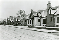 1/22/1921 Snow at Charles Chaplin Studio on La Brea Ave