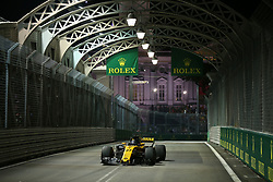 September 15, 2017 - Singapore, Singapore - Motorsports: FIA Formula One World Championship 2017, Grand Prix of Singapore, ..#27 Nico Hulkenberg (GER, Renault Sport F1 Team) (Credit Image: © Hoch Zwei via ZUMA Wire)