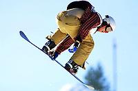 Snowboard, NM halfpipe, Kongsberg Skisenter 24. mars 2001. Marius Sommer.