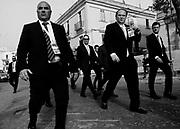 Il Segretario del Tesoro degli Stati Uniti, Steven Mnuchinli durante il G7 dei Ministri delle Finanze. Bari 11 Maggio 2017. Christian Mantuano / OneShot<br /> <br /> US Secretary of Treasury Steven Mnuchin (c) during a G7 summit of Finance Ministers on May 11, 2017 in Bari. Christian Mantuano / OneShot