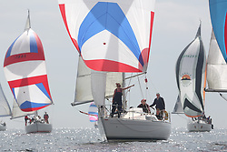The Silvers Marine Scottish Series 2014, organised by the  Clyde Cruising Club,  celebrates it's 40th anniversary.<br /> GBR4270, Sigmatic, Donald & Anita Mclaren, CCC/Helensburgh SC<br /> Final day racing on Loch Fyne from 23rd-26th May 2014<br /> <br /> Credit : Marc Turner / PFM