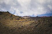 Volcanic terrain of Tongariro Alpine Crossing, Tongariro National Park, New Zealand Ⓒ Davis Ulands   davisulands.com
