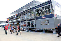 MOTORSPORT - F1 2013 - BRITISH GRAND PRIX - GRAND PRIX D'ANGLETERRE - SILVERSTONE (GBR) - 28 TO 30/06/2013 - PHOTO : FREDERIC LE FLOC'H / DPPI - ILLUSTRATION TORO ROSSO AND RED BULL RACING MOTORHOME