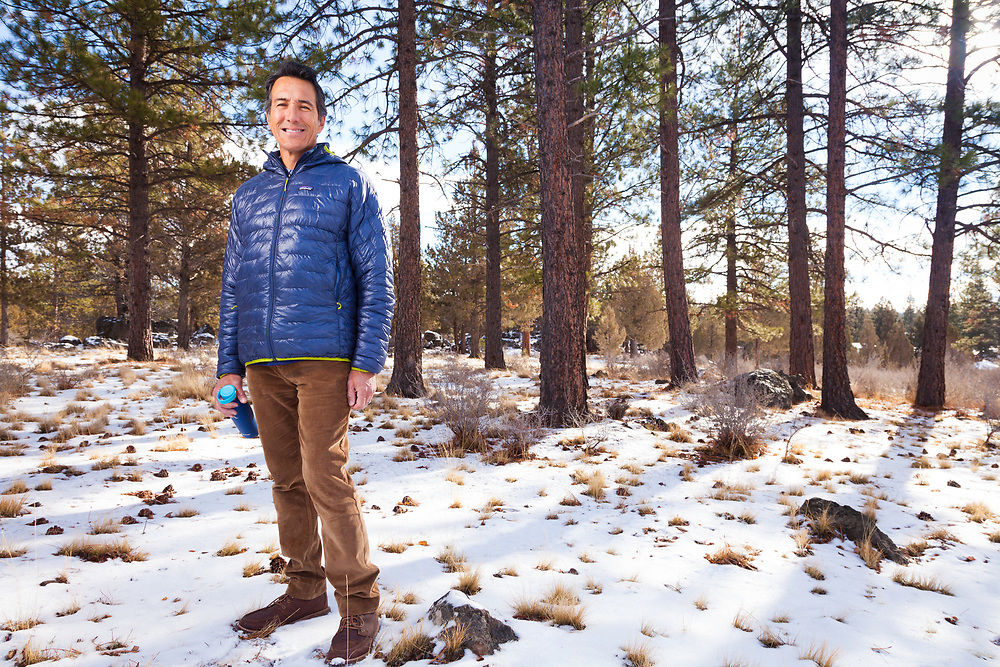 Scott Allan is the CEO of Hydro Flask based in Bend Oregon, photographed in Bend