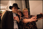 SORAPOL CHAWAPHATNAKUL, PAT LISMORE; MICHELLE WIGLEY Sorapol Ollin Atelier and Pret a Porter Presentation. Strand Gallery.  32 john Adam St. WC2. London. 20 February 2015
