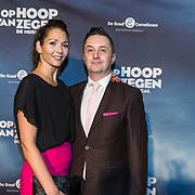 NLD/Zaandam/20190128- première musical Op Hoop van Zegen, Jeremy Baker en Meriyem Manders