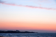 Sunset over Bamburgh Castle, Northumberland Coast AONB, UK (May 2016) © Rudolf Abraham