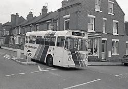 Bus, Forest Fields, Nottingham UK 1985